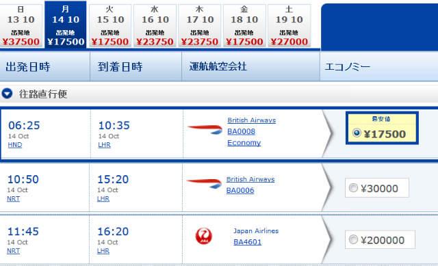 英国観光庁とBAのコラボで東京~イギリスの往復運賃が3万5000円 (2)