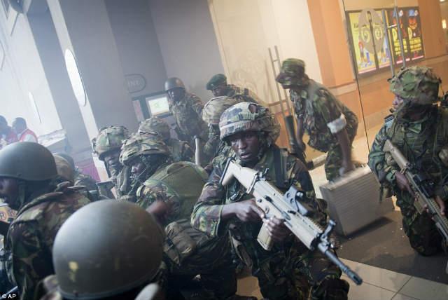 ナイロビのショッピングモールで銃撃戦 (2)