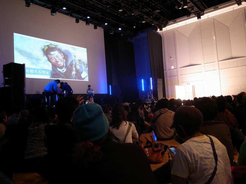 栗城史多さんのトークライブ