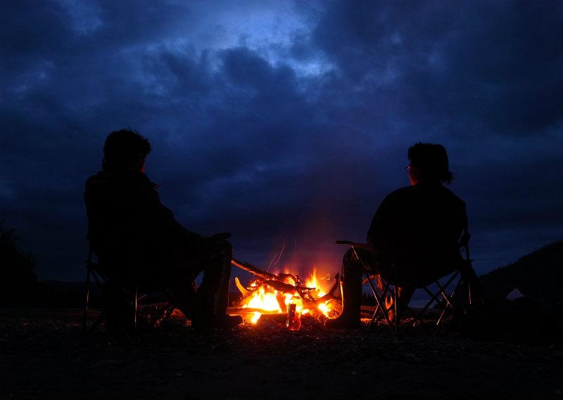 ユーコン川カヌー旅組み写真 (3)