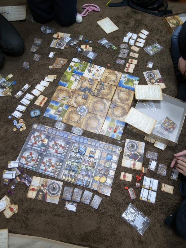 廃人生成ゲームとして評判が高いシヴィライゼーションのボードゲーム拡張版で遊んできたよ! (5)