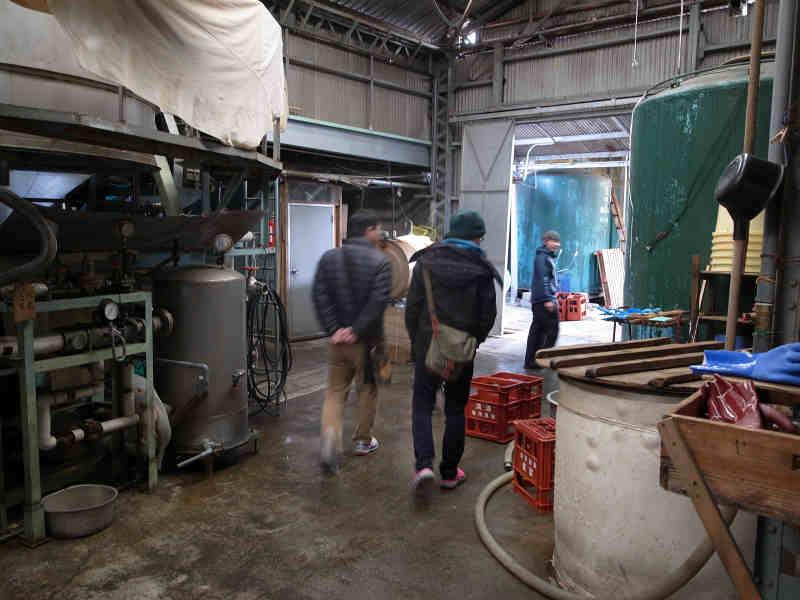 愛知県江南市の酒造を見学して日本酒の作り方を学んできたよ![楽の世] (8)