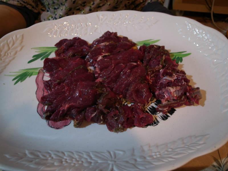 ジビエ料理の鹿肉肩ロースが想像以上においしくてびっくり! (7)