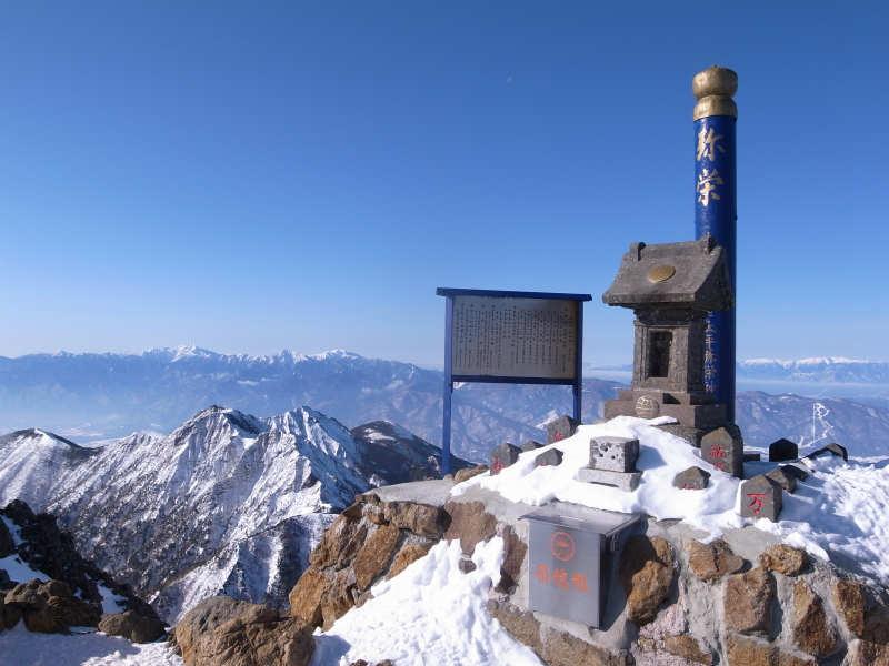 厳冬期2月の冬山に初挑戦!八ヶ岳の頂点、赤岳を雪山登山(赤岳鉱泉テント泊ルート、コースタイム有) (30)