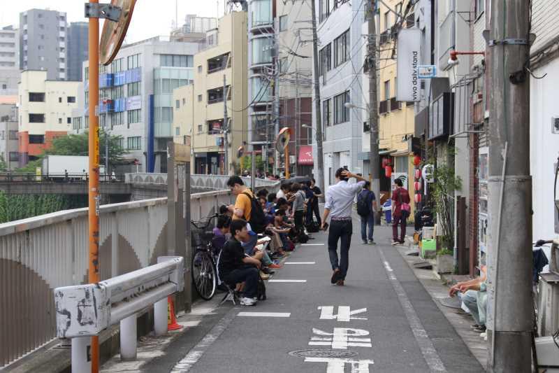 高田馬場「べんてん」が閉店するので、行列具合と待ち時間を確認しに行ってみた! (1)