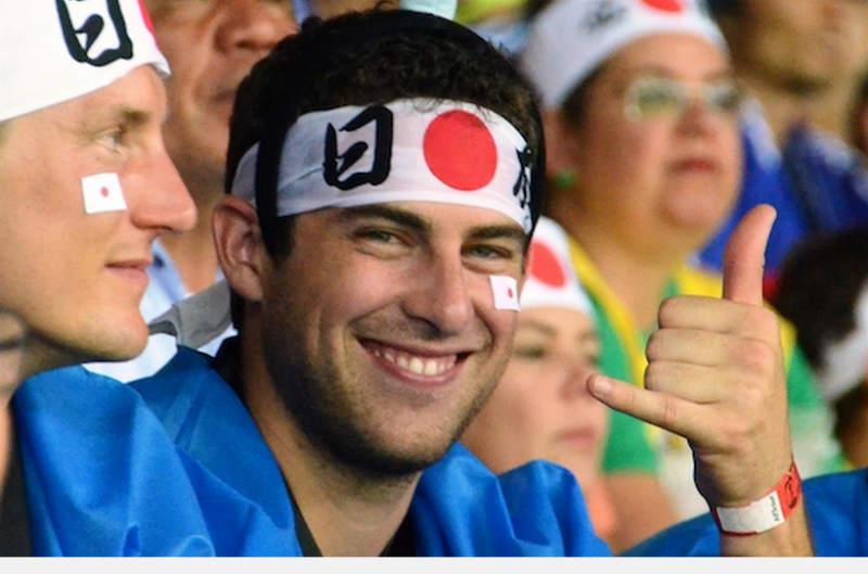 ブラジルW杯日本初戦のコートジボワール戦「日の丸はちまき大作戦」結果報告 (10)