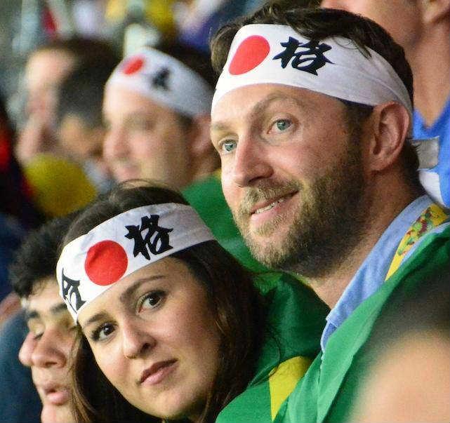 ブラジルW杯日本初戦のコートジボワール戦「日の丸はちまき大作戦」結果報告 (11)