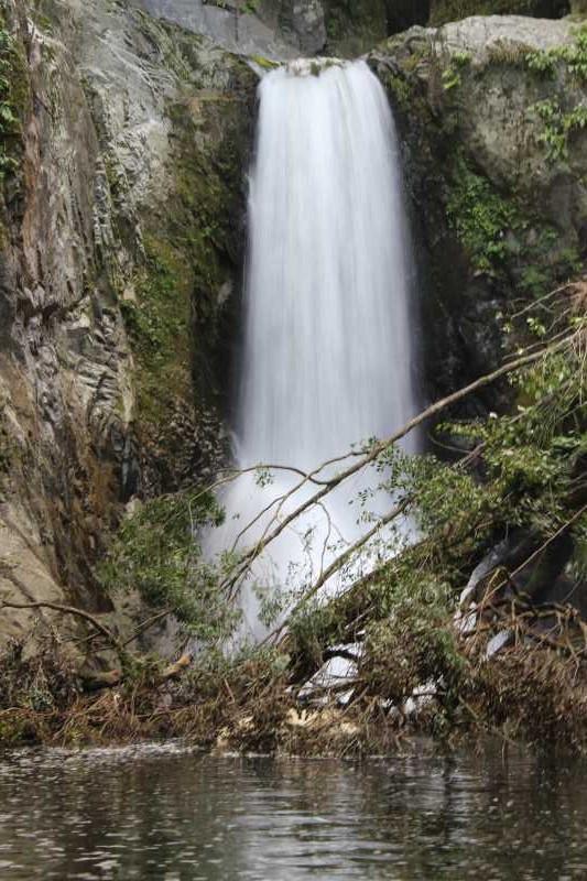 愛知県新城市作手の「鳴沢の滝」までサイクリングして泳いでみた! (11)