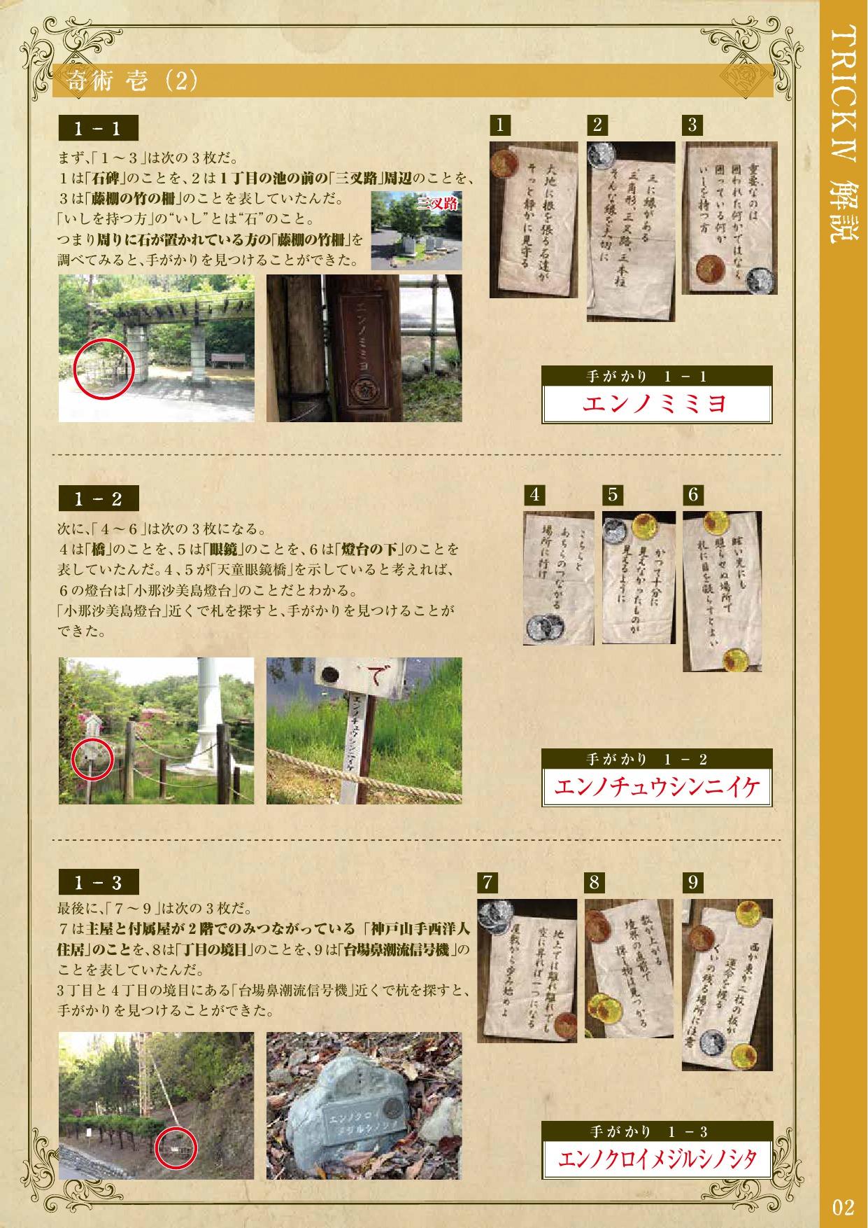 明治村探検隊のトリックⅣの解答 (2)