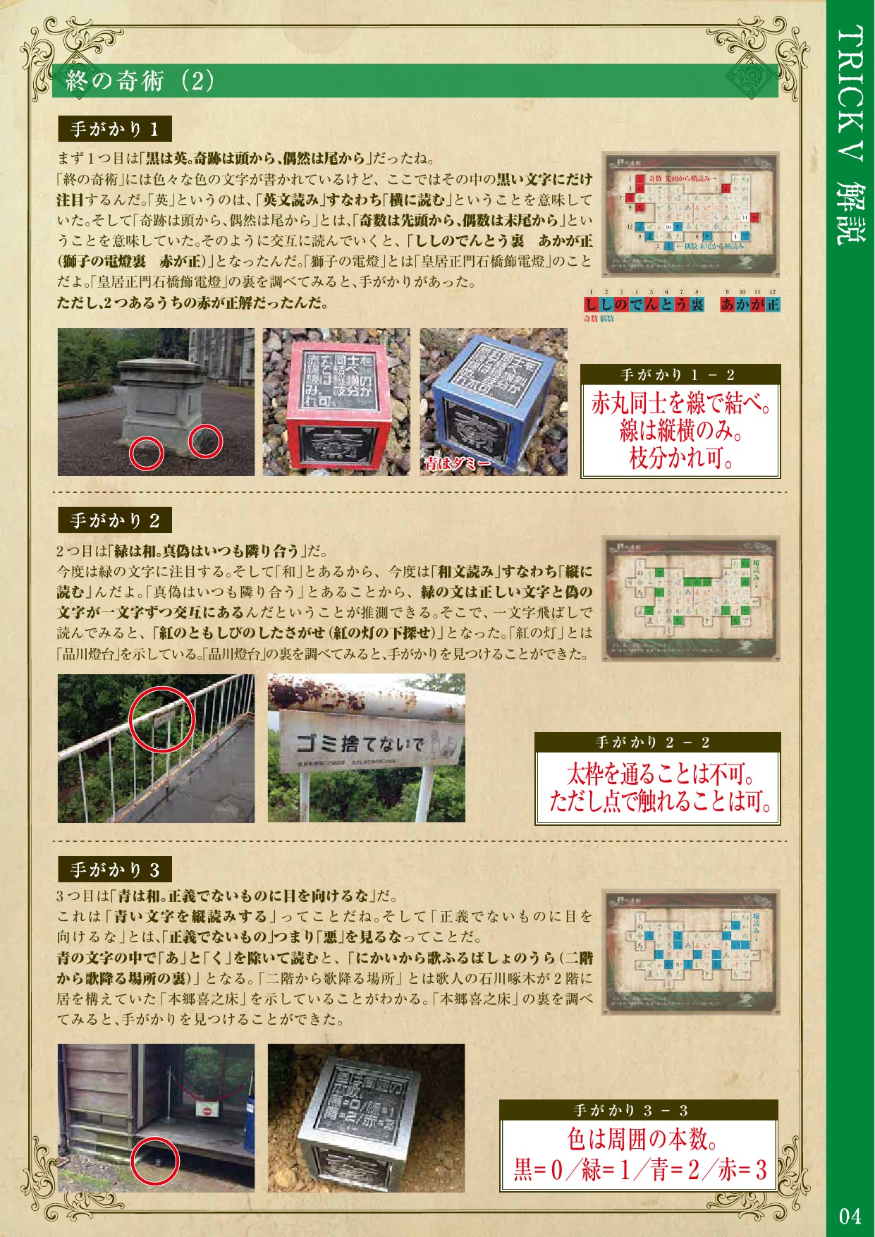 明治村探検隊トリックⅤの解答 (4)