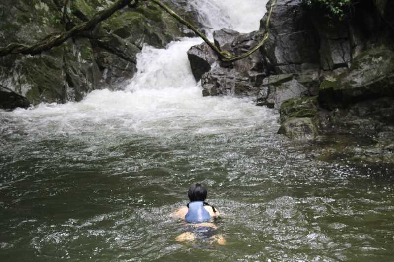 新城市作手地区「保永の三滝」の水難事故動画リベンジしたかったけど・・・「アー!」 (3)
