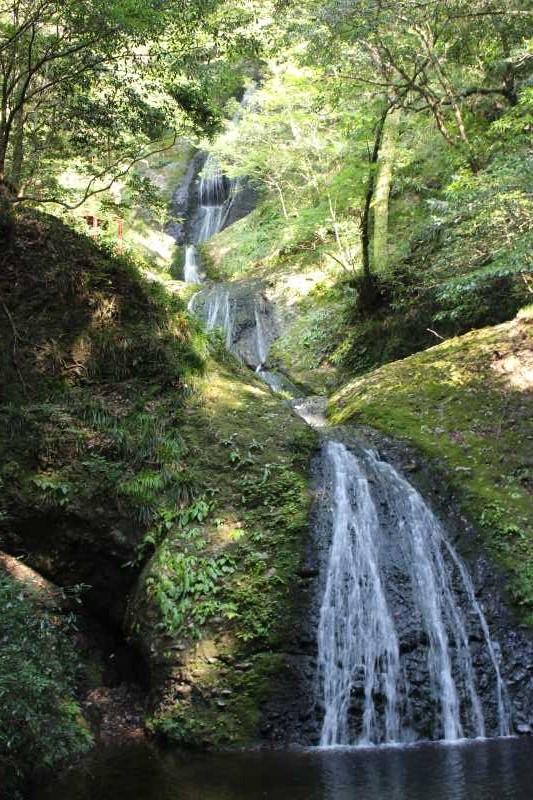 愛知県唯一の日本の滝百選である新城市「阿寺の七滝」に情緒あり (4)