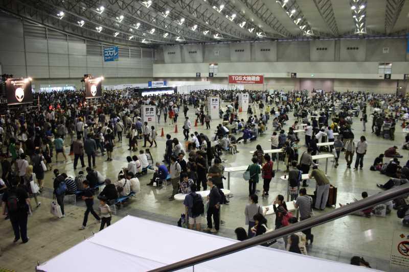 来場者数が25万人を越えた東京ゲームショウ2014に弾丸で行ってみた (1)