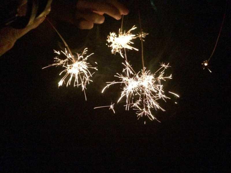 東京・浅草橋「長谷川商店」で購入した花火でミニ花火大会をやってみた! (2)