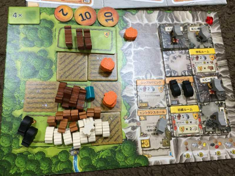 カヴェルナで100点超え!武装して動物を増やす戦略【ボードゲームレビュー】 (3)