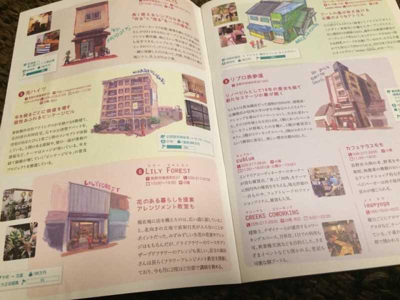 長野市の改修した古民家が特集されている「古き良き未来地図」が素敵すぎる!善光寺観光に必須 (2)