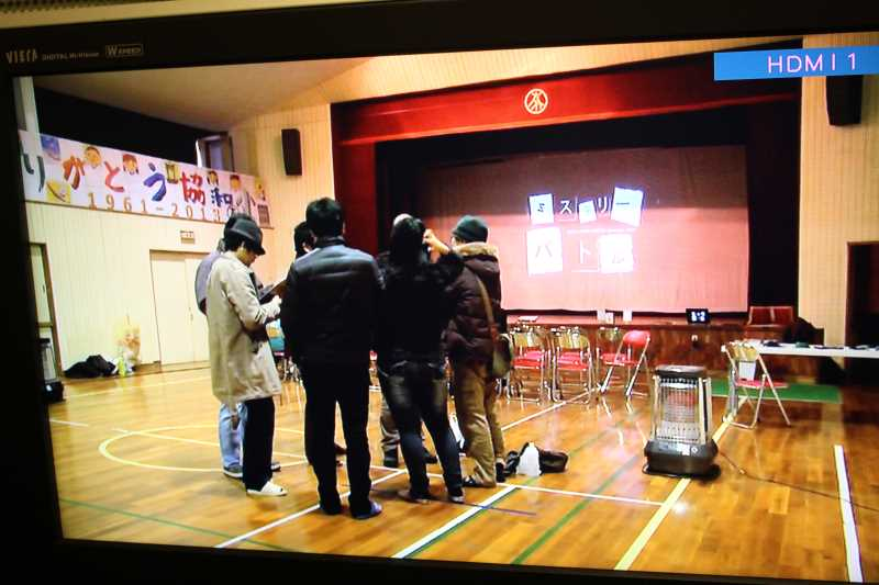 協和小での廃校脱出ゲーム企画がテレビ放送されたよ! (2)
