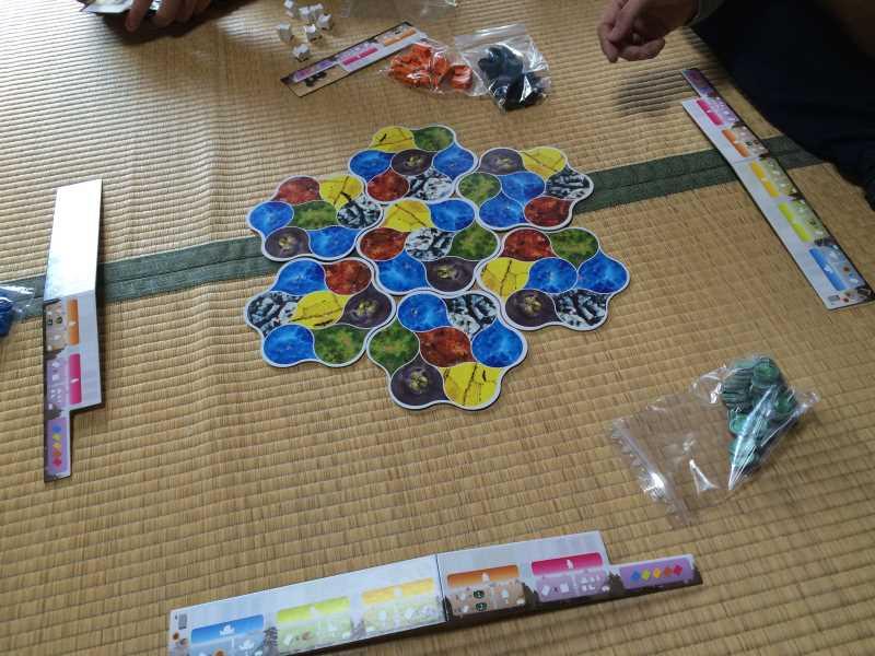 ボードゲーム「デウス (DEUS)」をやったのでレビュー!バランスのとれた良ゲーの予感 (1)
