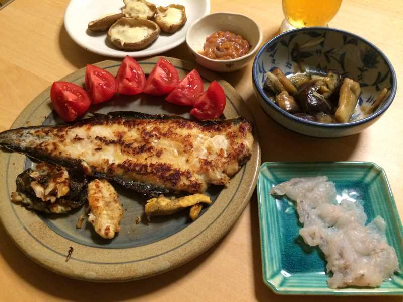 メジナは刺身と塩焼き、ウミタナゴは塩焼き、シタカレイは刺身とムニエルに (4)
