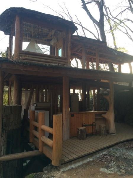伊豆のスターヒルズのログハウスと作りかけのアースバックハウスがすごすぎた!【静岡】 (20)