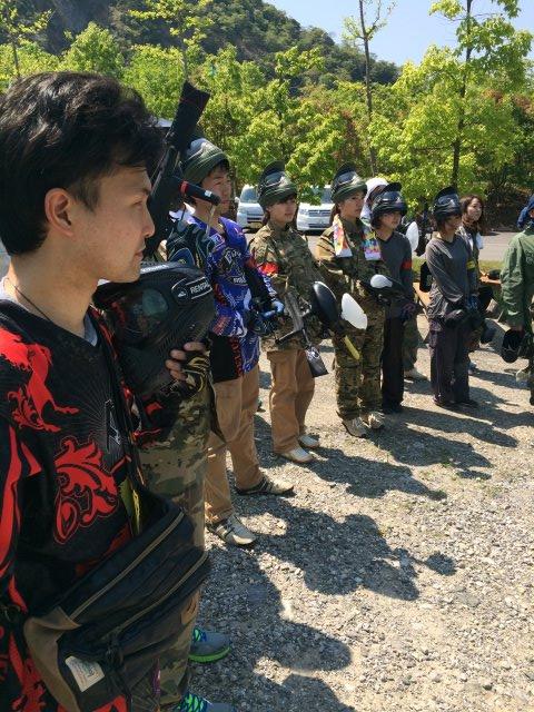 色つき銃のサバイバルゲームペイントボールが楽しすぎた!【名古屋近郊のサバゲー会場イナベ】 (15)