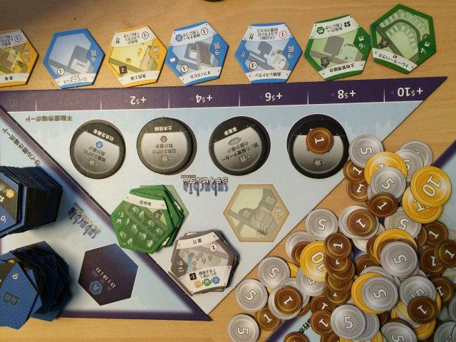 シティビルダーが選択肢が少ない割に戦略性があって面白い!【ボードゲームレビュー】 (3)