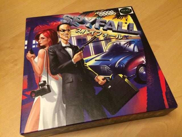 頭を使わずみんなでわいわい楽しむボードゲームを探しているなら・・・「スパイフォール」が超おすすめ! (1)
