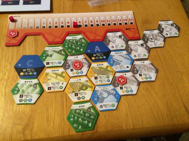 シティビルダーが選択肢が少ない割に戦略性があって面白い!【ボードゲームレビュー】 (7)
