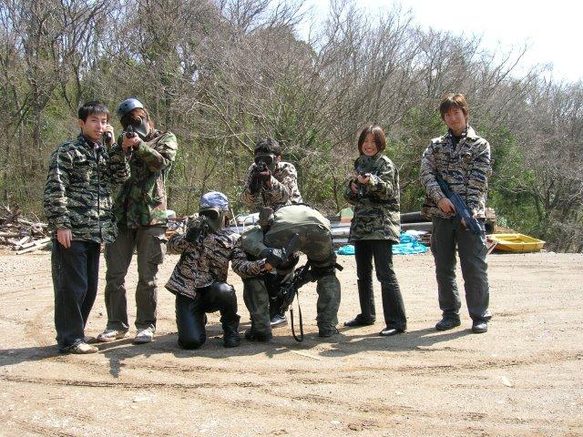 色つき銃のサバイバルゲームペイントボールが楽しすぎた!【名古屋近郊のサバゲー会場イナベ】