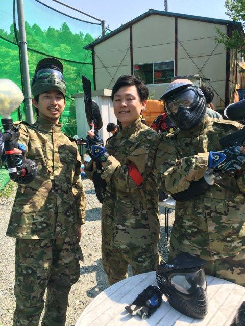 色つき銃のサバイバルゲームペイントボールが楽しすぎた!【名古屋近郊のサバゲー会場イナベ】 (24)