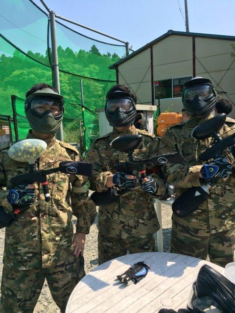 色つき銃のサバイバルゲームペイントボールが楽しすぎた!【名古屋近郊のサバゲー会場イナベ】 (26)