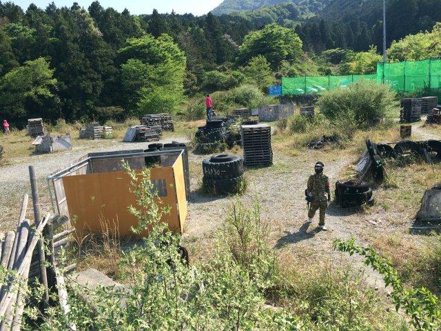 色つき銃のサバイバルゲームペイントボールが楽しすぎた!【名古屋近郊のサバゲー会場イナベ】 (32)