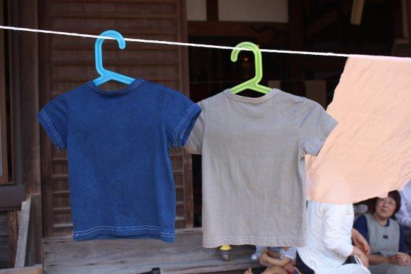 草木染め染色体験ふたたび。藍染めTシャツの作り方を研究してみたよ! (19)